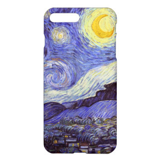 Vincent Van Gogh Starry Night Vintage Fine Art iPhone 7 Plus Case
