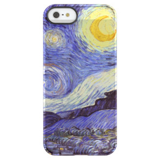 Vincent Van Gogh Starry Night Vintage Fine Art Uncommon Permafrost® Deflector iPhone 5 Case