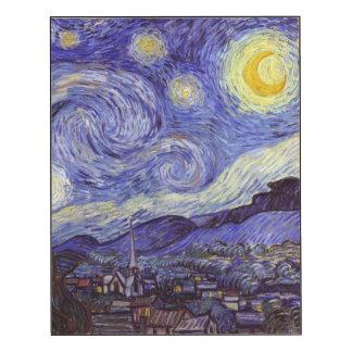 Vincent Van Gogh Starry Night Vintage Fine Art