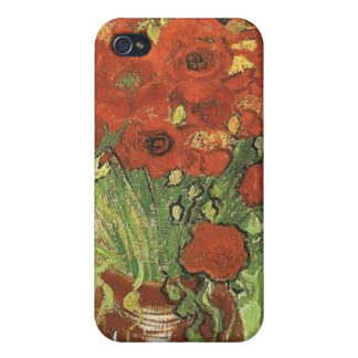 Vincent van Gogh, Still life - Red poppies... iPhone 4/4S Cover