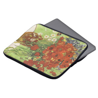 Vincent van Gogh, Still life - Red poppies... Laptop Sleeves