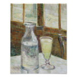 Vincent Van Gogh Still Life With Absinthe Fine Art Poster