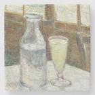 Vincent Van Gogh Still Life With Absinthe Fine Art Stone Coaster