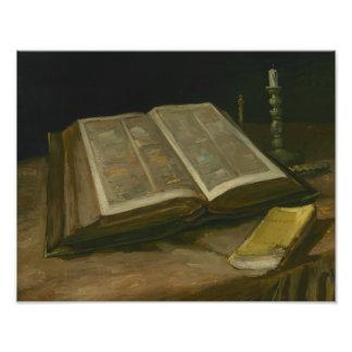 Vincent van Gogh - Still life with Bible Photo