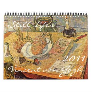 Vincent van Gogh Still Lifes 2011 Calendar