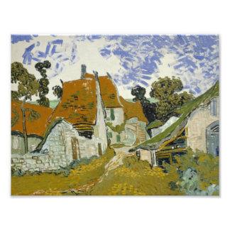 Vincent van Gogh - Street in Auvers-sur-Oise Photo