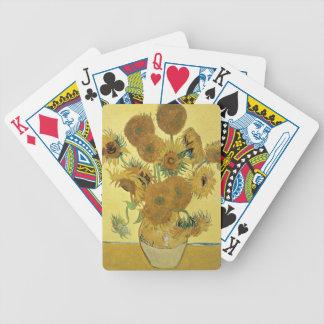Vincent van Gogh | Sunflowers, 1888 Poker Deck