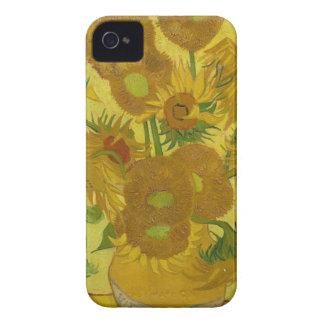 Vincent Van Gogh Sunflowers - Classic Art Floral iPhone 4 Case