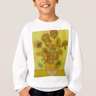 Vincent Van Gogh Sunflowers - Classic Art Floral Sweatshirt