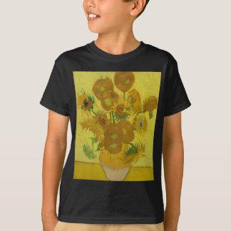 Vincent Van Gogh Sunflowers - Classic Art Floral T-Shirt