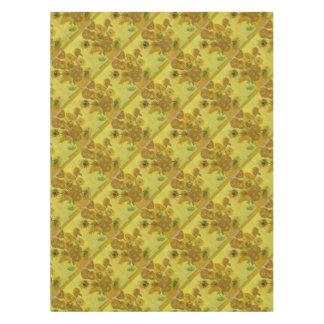 Vincent Van Gogh Sunflowers - Classic Art Floral Tablecloth