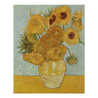 Vincent Van Gogh, Sunflowers Poster