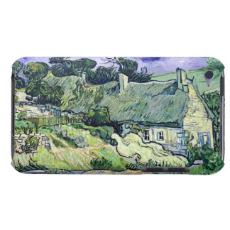 Vincent van Gogh   Thatched cottages at Cordeville Barely There iPod Cover