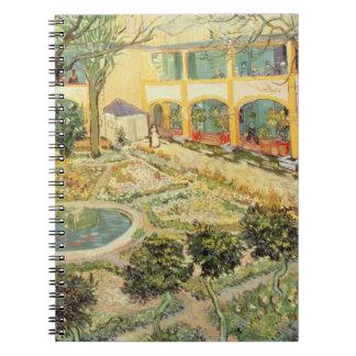 Vincent van Gogh | The Asylum Garden at Arles Spiral Notebook