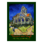 Vincent van Gogh: the Church At Auvers Posters