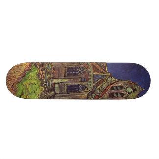 Vincent Van Gogh - The Church at Auvers Skateboard Decks