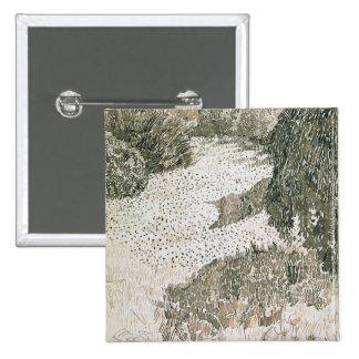 Vincent van Gogh | The Corner of the Park, 1888 15 Cm Square Badge