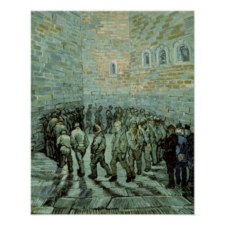 Vincent van Gogh | The Exercise Yard Poster
