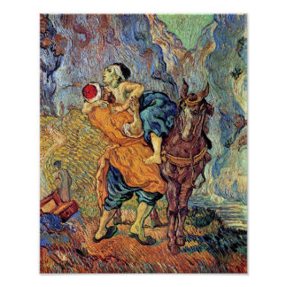 Vincent Van Gogh - The Good Samaritan - Fine Art Poster