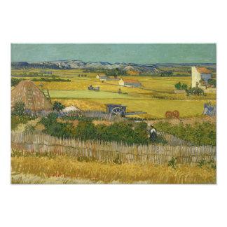 Vincent van Gogh - The Harvest Photo Art
