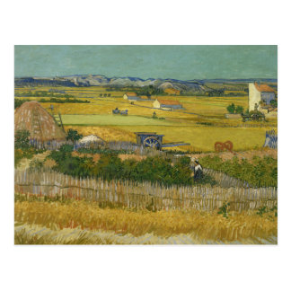 Vincent van Gogh - The Harvest Postcard