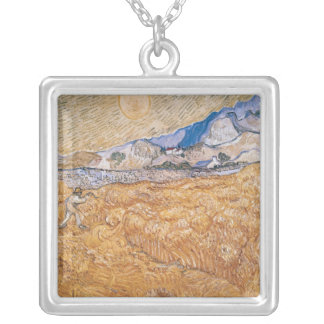 Vincent van Gogh | The Harvester Silver Plated Necklace