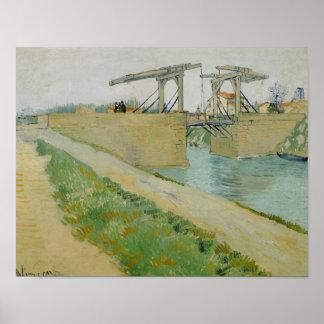 Vincent van Gogh - The Langlois Bridge Poster