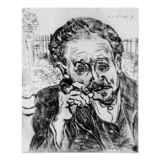 Vincent van Gogh | The Man with the Pipe Poster