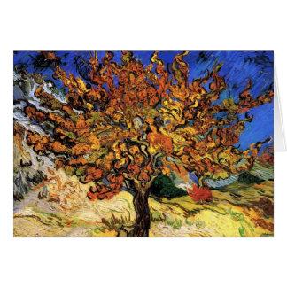 Vincent Van Gogh - The Mulberry Tree Fine Art Card