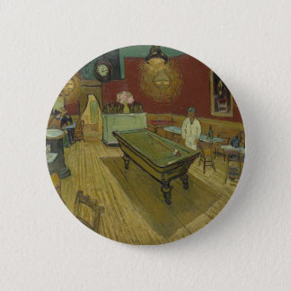 Vincent Van Gogh The Night Cafe Painting Art Work 6 Cm Round Badge
