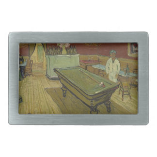 Vincent Van Gogh The Night Cafe Painting Art Work Belt Buckle