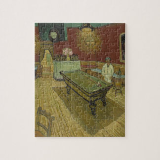 Vincent Van Gogh The Night Cafe Painting Art Work Jigsaw Puzzle