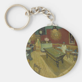 Vincent Van Gogh The Night Cafe Painting Art Work Key Ring