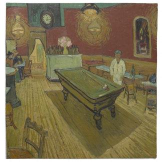 Vincent Van Gogh The Night Cafe Painting Art Work Napkin