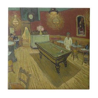 Vincent Van Gogh The Night Cafe Painting Art Work Tile