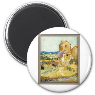 Vincent van Gogh The Old Mill Refrigerator Magnet