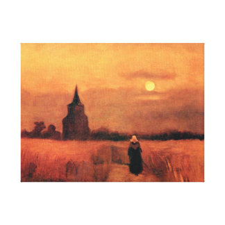 Vincent Van Gogh - The Old Tower In The Fields Canvas Print