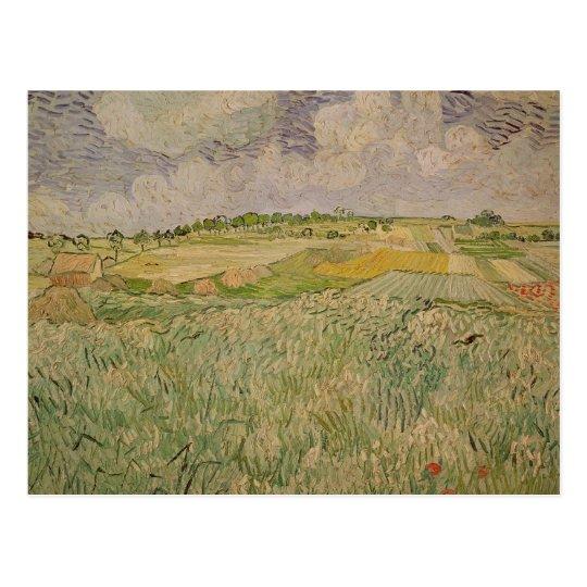 Vincent van Gogh | The Plain at Auvers, 1890 Postcard