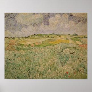 Vincent van Gogh | The Plain at Auvers, 1890 Poster