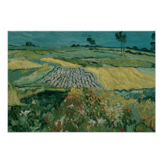 Vincent van Gogh - The Plain of Auvers Poster