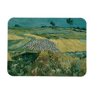 Vincent van Gogh - The Plain of Auvers Rectangular Photo Magnet
