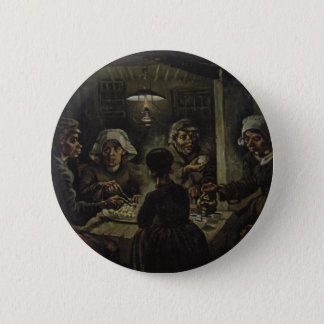 Vincent Van Gogh - The Potato Eaters 6 Cm Round Badge