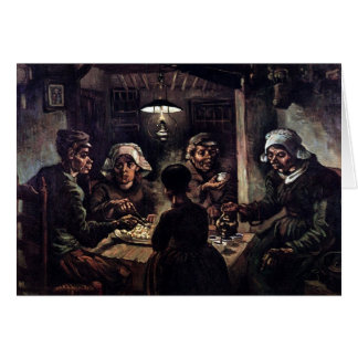 Vincent Van Gogh - The Potato Eaters Fine Art Card