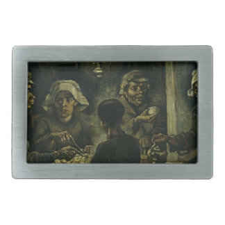 Vincent Van Gogh The Potato Eaters Painting. Art Belt Buckle