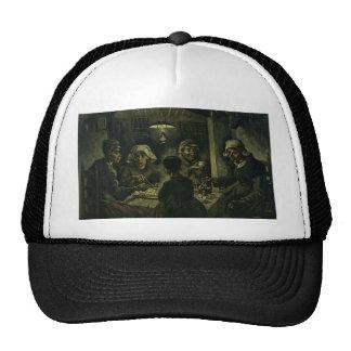 Vincent Van Gogh The Potato Eaters Painting. Art Cap