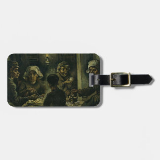 Vincent Van Gogh The Potato Eaters Painting. Art Luggage Tag