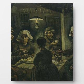 Vincent Van Gogh The Potato Eaters Painting. Art Plaque