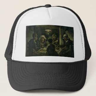 Vincent Van Gogh The Potato Eaters Painting. Art Trucker Hat