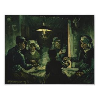 Vincent van Gogh - The Potato Eaters Photo Print