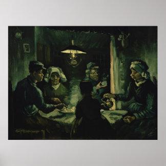 Vincent van Gogh - The potato eaters Poster